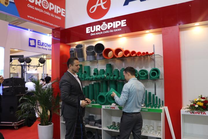 europipe tại triển lãm quốc tế vietbuild