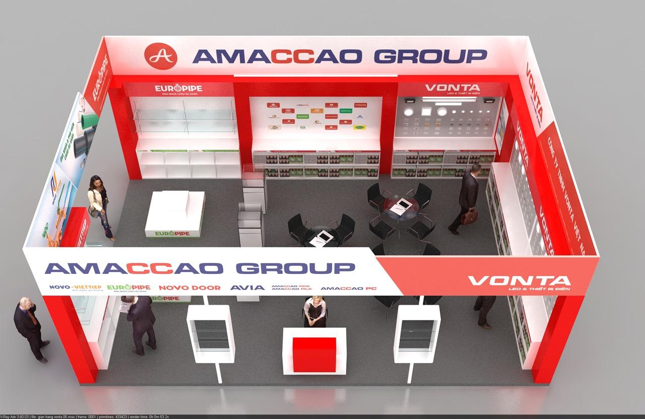 triển lãm vietbuild amaccao 2021