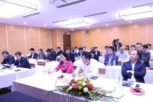 lãnh đạo thành phố Hà Nội thăm AMACCAO