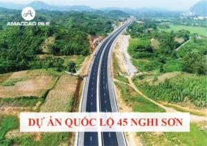 dự án 45 quốc lộ nghi sơn